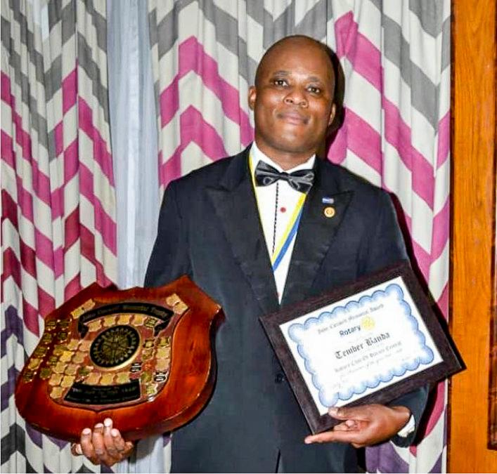 Past President Tember Banda